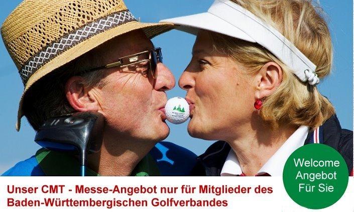 Unser Welcome Angebot nur für Golferinnen und Golfer die Mitglied im Baden-Württembergischen Golfverband sind